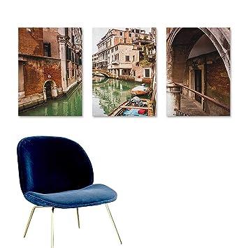 Outstanding Amazon Com Agoza Venice Oil Painting Modern Wall Art Frankydiablos Diy Chair Ideas Frankydiabloscom