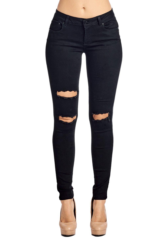Blue Age Women's Butt-Lifting Skinny Jeans (1, JP1026_Black)