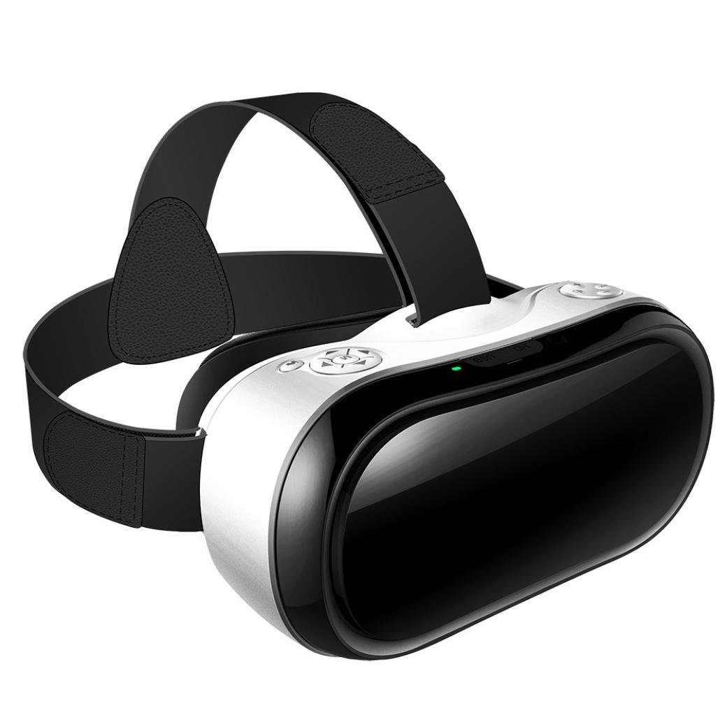 Dreamyth VR Headset, All-in-one WiFi Virtual Reality 3D Glasses VR Box 90 FOV 2GB / 16GB Android 5.1 5.5 ''TFT Screen 1080P FPS 3D / Panorama Immersive HDMI TF Card Slot Durable (White) by Dreamyth