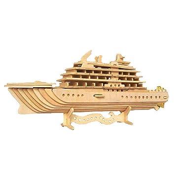 Woodcraft Maqueta de Madera Modelo Crucero de Lujo: Amazon ...