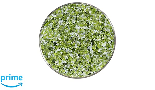 Green is Keen Designer Fusible Glass Medium Frit Mix Made from Bullseye Glass by New Hampshire Craftworks 90COE 4oz The Ombre Collection