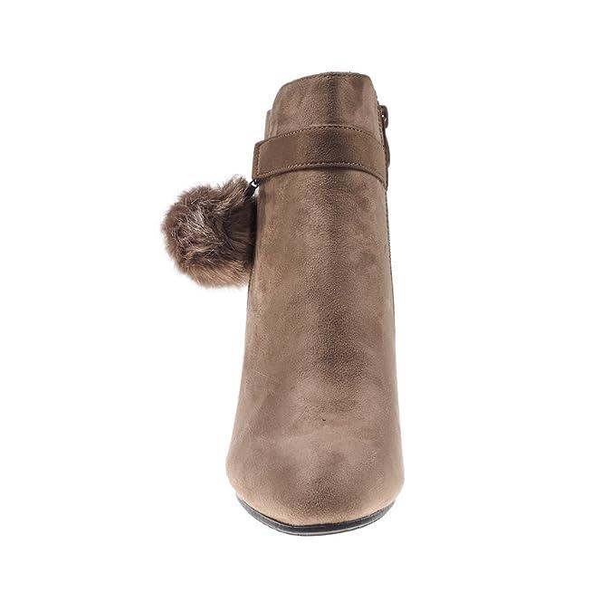 6d6673229fa1 5186 Fashion4Young Elegante Damen Stiefel Stiefelette Ankle Boots  Lederimitat Reissverschluss  Amazon.de  Schuhe   Handtaschen
