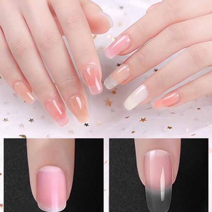 Fish 30 ml de uñas de gel de poli duro jalea del constructor del gel UV empapa del POLYGEL uñas Fast Extended Herramientas de la manicura: Amazon.es: ...
