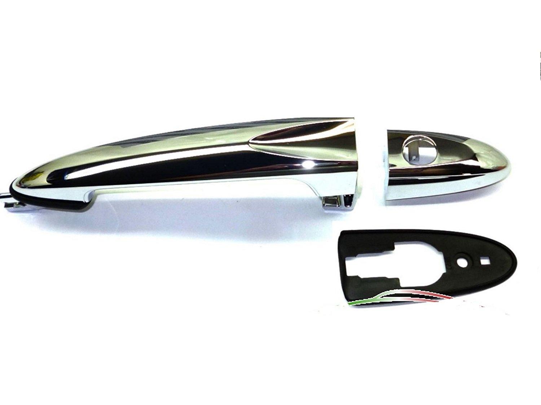 modelos de 2003/a 2011 sin llave Tirador de puerta exterior izquierda cromada