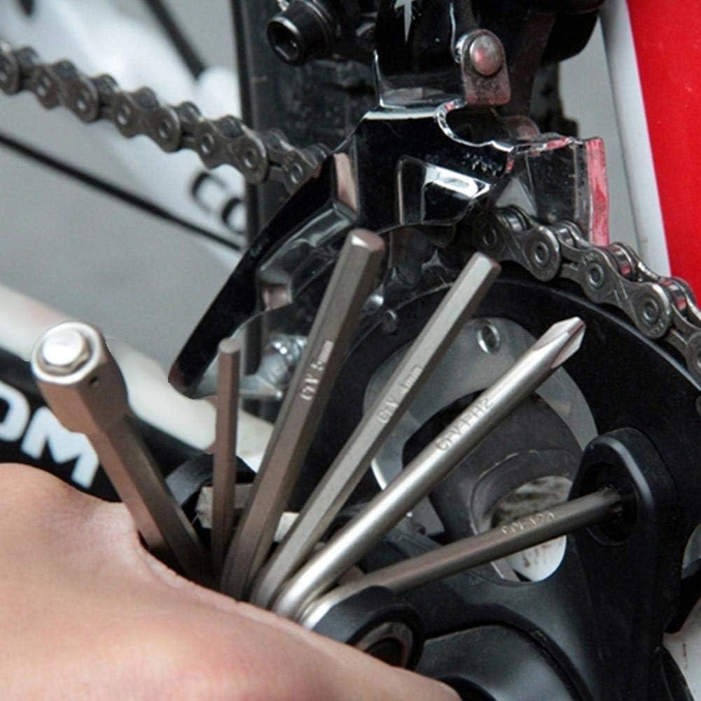 VGEBY1 Bike Repair Tool Kits Lightweight Bicycle Multi-function Repair Set for Bike Repair