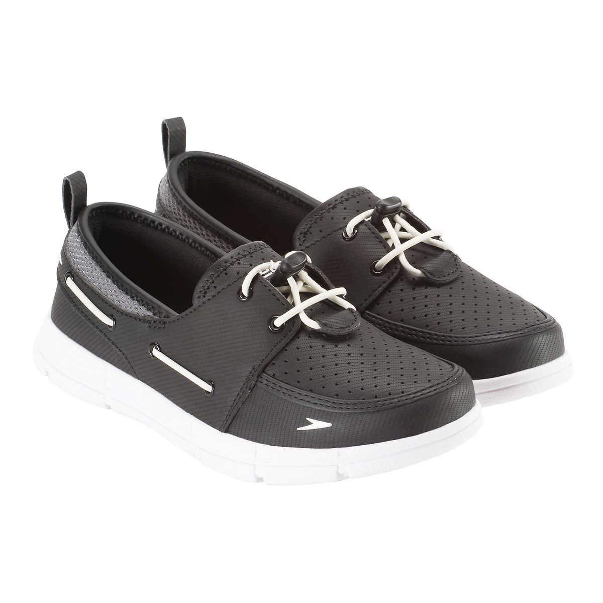 Speedo. Women's Port Lightweight Breathable Water Shoe (8 Black/Grey/White) by Speedo.