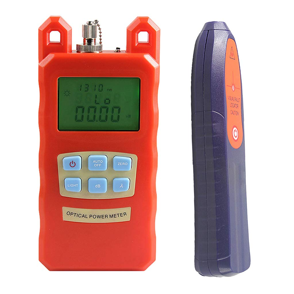 Baosity AUA-70C Portable Optical Fiber Power Meter Tester Measure -70dBm~+10dBm + 20mW 15KM Visual Fault Locator Fiber Tester Detector Meter Pen Tools by Baosity (Image #10)