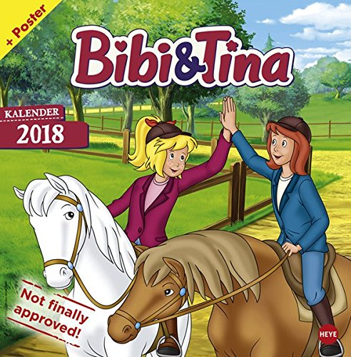 Bibi und Tina TV Broschurkalender - Kalender 2018