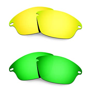 HKUCO Plus Mens Replacement Lenses For Oakley Fast Jacket - 2 pair rFnd0dPZ1h