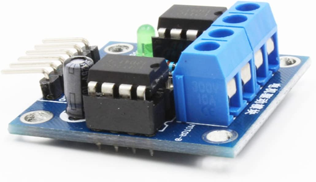 Hu 2019 Good Product 4.5~6V 2 Chips DC Motor Drive Module with LED Indication
