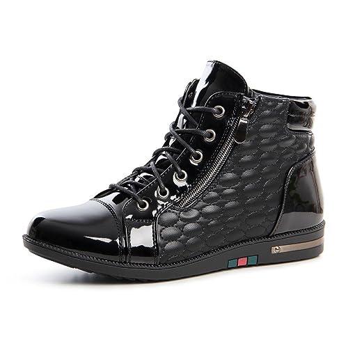 topschuhe24 647 Mujer Zapatillas cuña Zapatillas, color Negro, talla 40: Amazon.es: Zapatos y complementos
