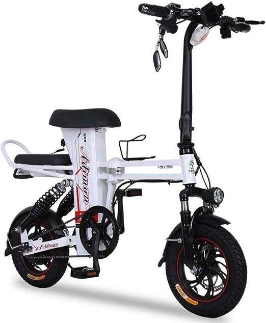 CYGGL Mini Bicicleta Eléctrica Adecuada para Hombres y Mujeres ...