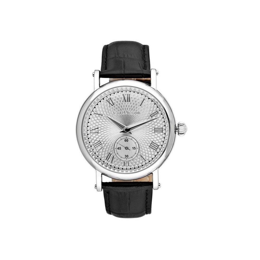 Jean Bellecour Reloj Analogico para Unisex de Cuarzo con Correa en Acero Inoxidable REDS45