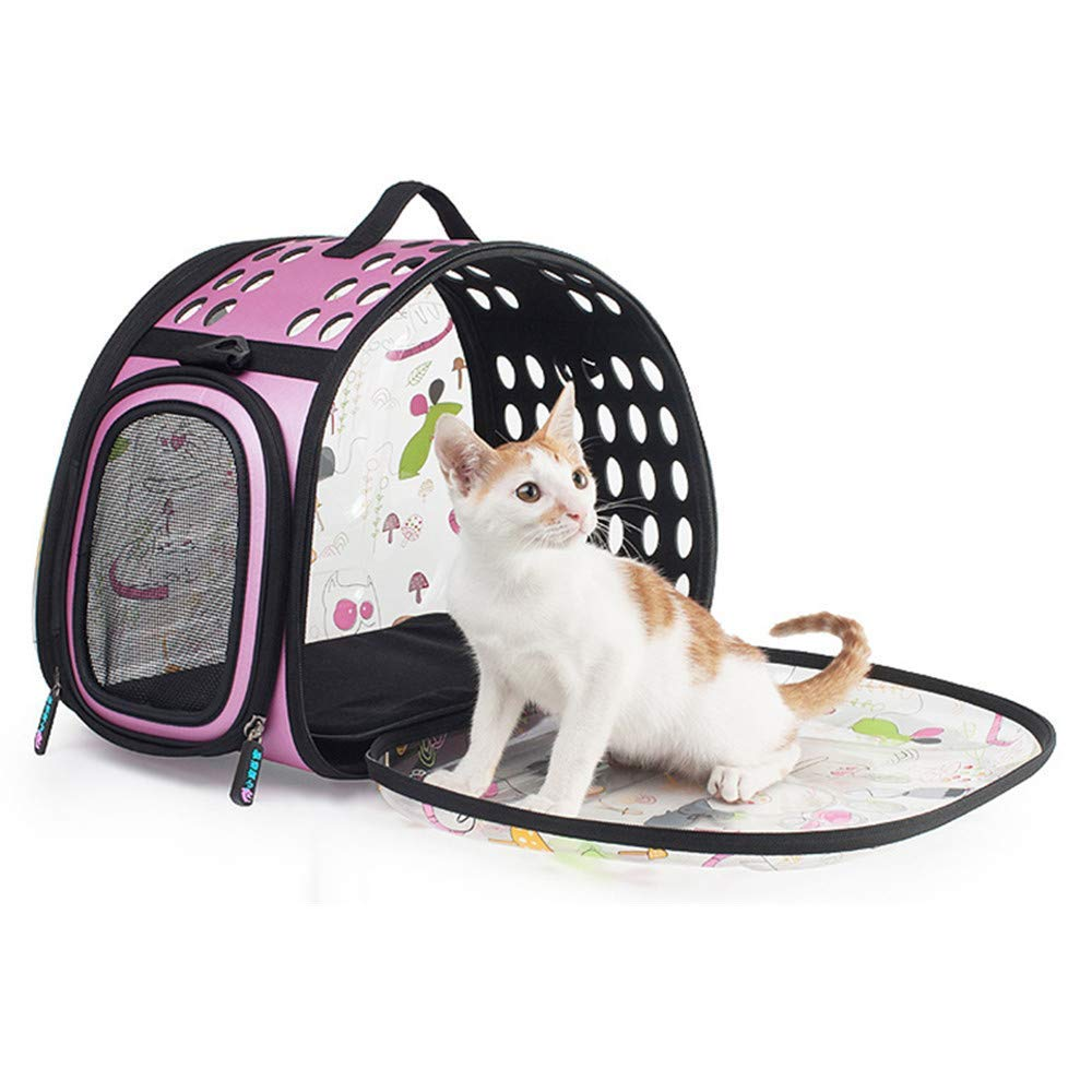 NKLD Pet Accessories-Pet Backpack Carrier,Pet Travel Handbag Shoulder Bags,Breathable Foldable For Travelling Hiking Camping Within 6KG Cats And Dogs