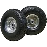 2 neumáticos de repuesto negros 4.1/3.5-4 de 260x