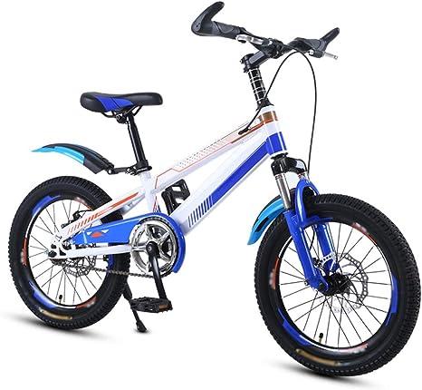 Axdwfd Infantiles Bicicletas Bicicletas para niños Bicicleta para niños de acero al carbono con rueda de