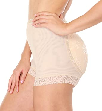 c26b17d3f97d0 SEXYWG Butt Lifter Shapewear Padded Panty Hip Enhancer Lace Seamless Body  Shaper  Amazon.co.uk  Clothing