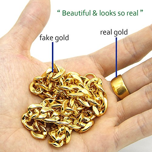Best Fake Gold Chains Costume Bulk October 2019 ★ Top