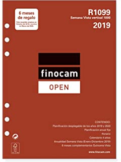 Recambio Agenda FINOCAM Open, R1010.2 Surtido Formularios ...