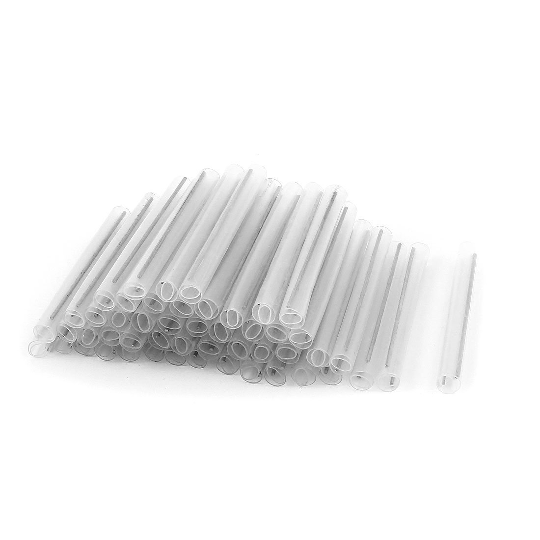 100pcs gaine protection tube raccord Fibre Optique tube thermorétractable 4cm