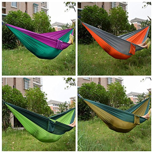 [해외]dipshop 옥외 정원 휴대용 해먹 캠핑 하이킹 여행 해변에 대 한 두 사람이 더블 스윙 침대/dipshop Outdoor Garden Portable Hammock Two Person Double Swing Bed