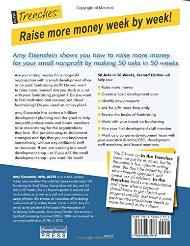 amazon 50 asks in 50 weeks a guide to better fundraising for your