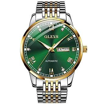Amazon.com: Relojes para Hombre Moda Clásico Automático ...