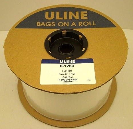 Amazon.com: ULINE S-1263 Bolsas de polietileno de 6.0 in x ...