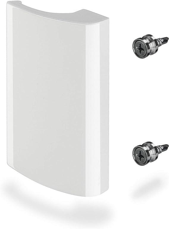 3 x Tirador de Porte Balcón SEJA Alumino / 82 x 52 x 20 mm/Blanco Tirador a Tirar de SO-TECH®: Amazon.es: Bricolaje y herramientas