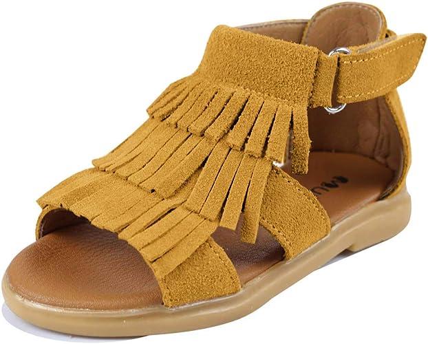 Amazon.com: Muy Guay - Sandalias de piel auténtica para ...