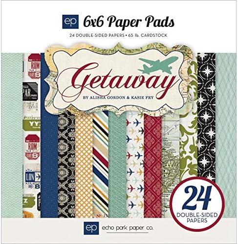 Echo Park Paper Company GA63023 Getaway Pads