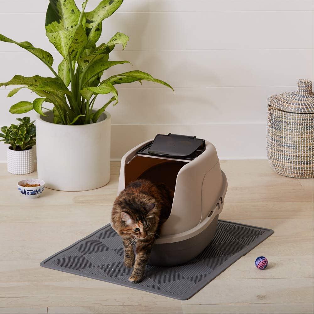 Mejores areneros para gatos a prueba de perros