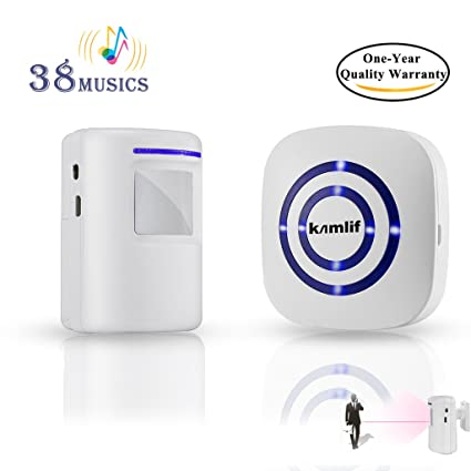 Amazon Wireless Home Security Driveway Alarm Kamlif Entry