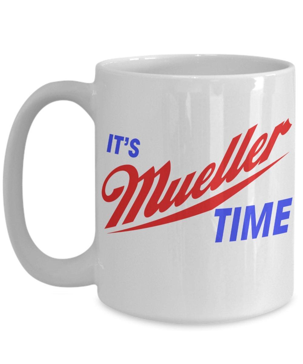 It 'sロバートMueller時間Resist Anti Trumpホワイト11 – 15オンスセラミックコーヒーマグカップ 15oz GB-1283529-43-White B0742JJ2CK ホワイト 15oz