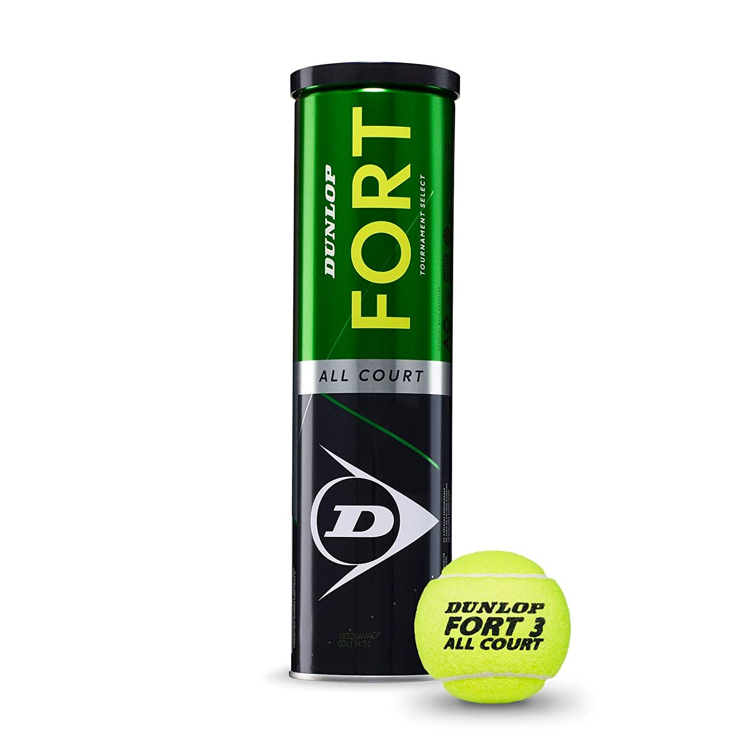 DUNLOP Fort All Court TS Pelotas Tenis, Adultos Unisex, Amarillo