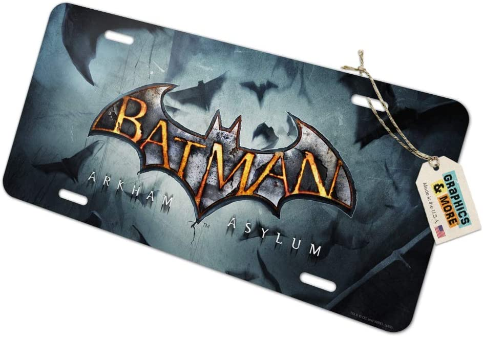 panda Batman The Dark Knight Logo License Plate license frame custom Metal License Plate for Car Novelty license plate 12 inch X 6 inch