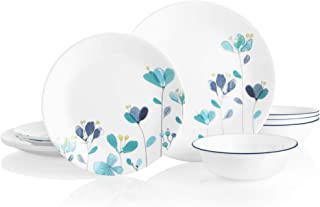 product image for Corelle Boutique Round 12-Piece Dinnerware Set, Service for 4 (Mountain Blossom)