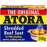 Atora Shredded Beef Suet 240g - Pack of 2