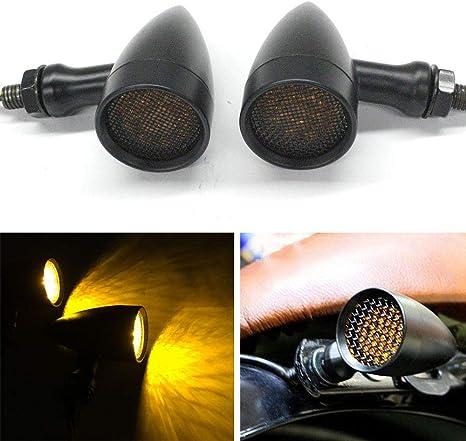 Amazon.com: 2 luces LED negras para motocicleta de 20 luces ...