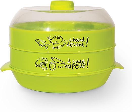 Cuisy CMP Accesorio para cocinar al vapor , plástico, multicolor ...