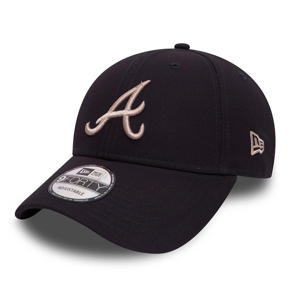 A NEW ERA 9forty Atlanta Braves Hombre Cap Azul Sin género Talla Única 80536631