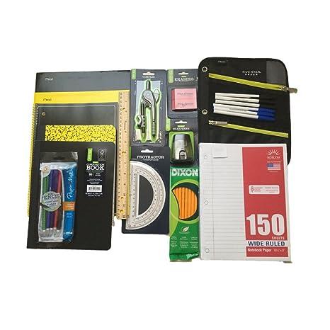 Amazoncom School Supplies Bundle Five Star Pencil Pouch Five