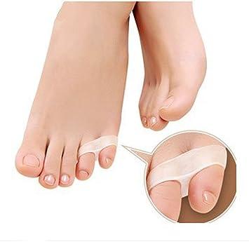 Silicona Toe plantillas Hallux Valgus Toe separador juanete alivio atención de pie para las mujeres JH-08: Amazon.es: Electrónica