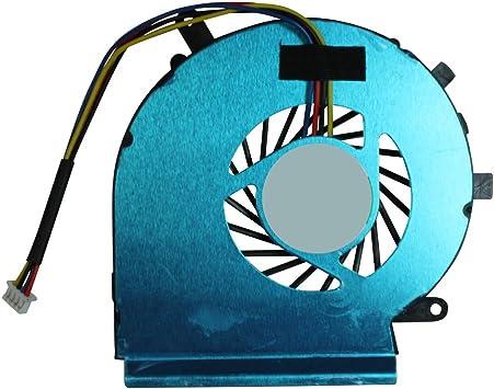Power4Laptops Ventilador CPU para Ordenadores portátiles 4 Pin ...