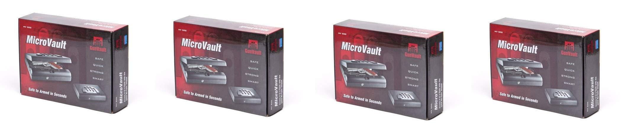 MV500 Microvault Pistol Gun Safe (Pack of 4)