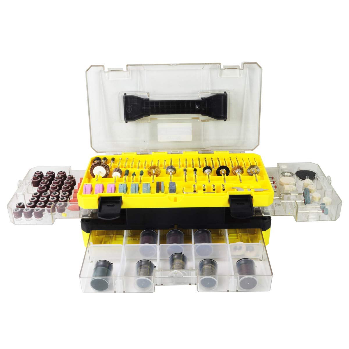 Rotary Tool Accessories Kit, Longmate 397 pcs Electric Rotary Accessory Set for Cutting, Carving by Longmate