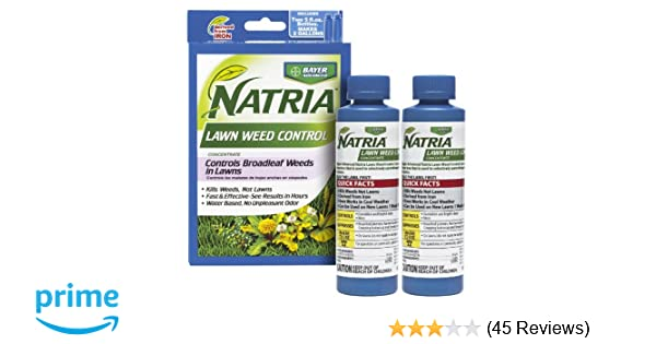 BAYER NATRIA LAWN WEED KILLER 2 PACK CONC  10oz (Two 5oz Bottles)