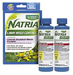 BAYER NATRIA LAWN WEED KILLER 2 PACK CONC. 10oz (Two 5oz Bottles)