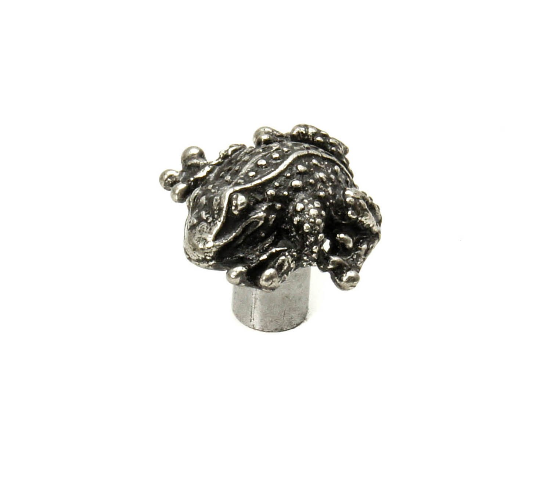 Carpe Diem Hardware 2232-9 Waterscape Frog Small Knob Chalice