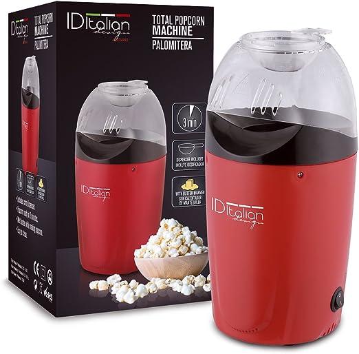 ID Italian IDECUSWEET03 PALOMITERA Popcorn Machine, 1200w ...
